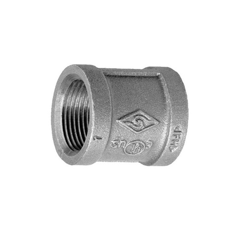 everflow gmlr0034 3/4 galvanizado, hierro maleable, recto, d