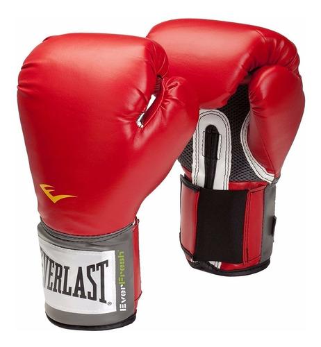 everlast - guante box rojo