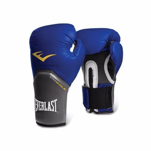 everlast - guante de box - azul 8oz