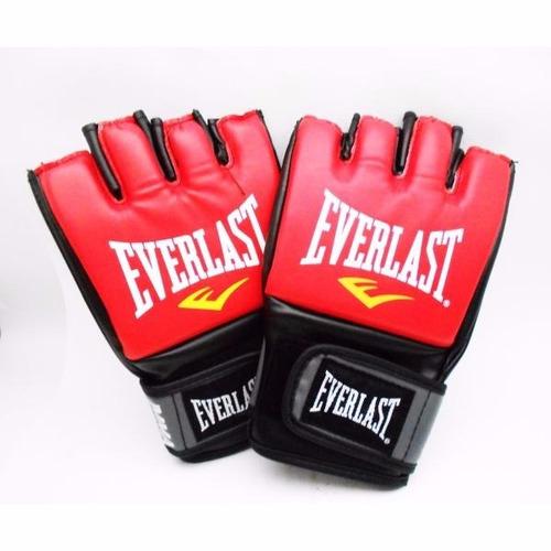 everlast - guantes para artes marciales - rojo