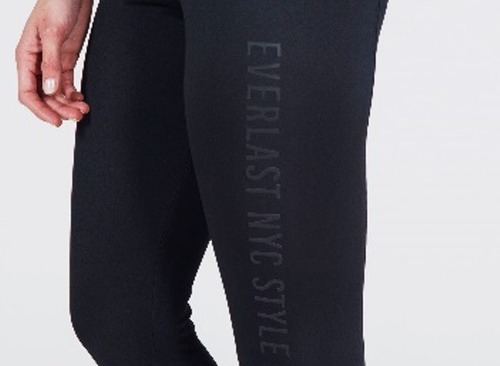everlast - legging long deep negro