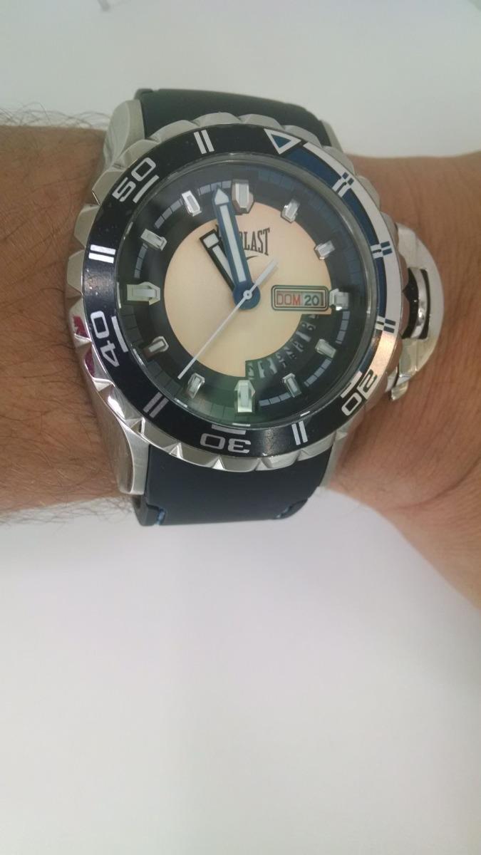 9c58d448c2b Relógio Everlast Masculino E238 Original E Barato - R  729