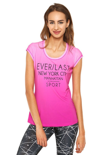 everlast - polera shade off amatista