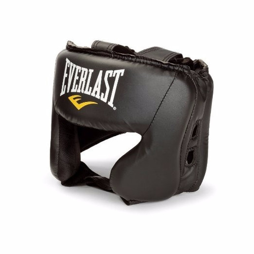 everlast - protector cabezal - negro