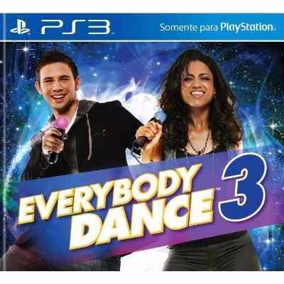 everybody dance 3 ps3 original sellado para move