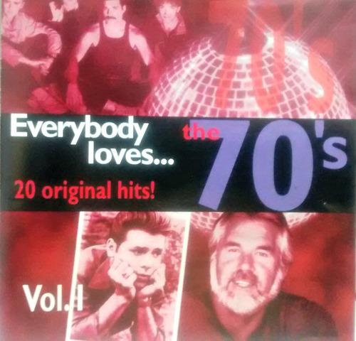 everybody loves...70,s vol.1 -cd queen,suzi quatro,the knack