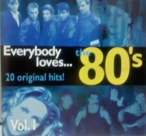 everybody loves..the 80,s - queen,duran duran,blondie..cd