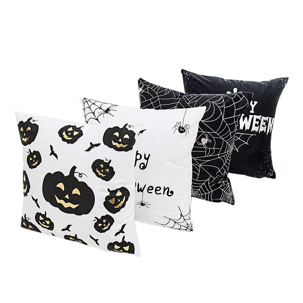 Everydlife Funda De Almohada Wicked Halloween De 4 Piezas F ...