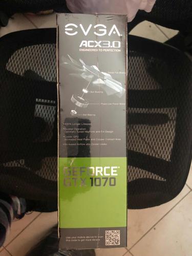 evga 1070 acx 3.0 nueva, en caja original sellada