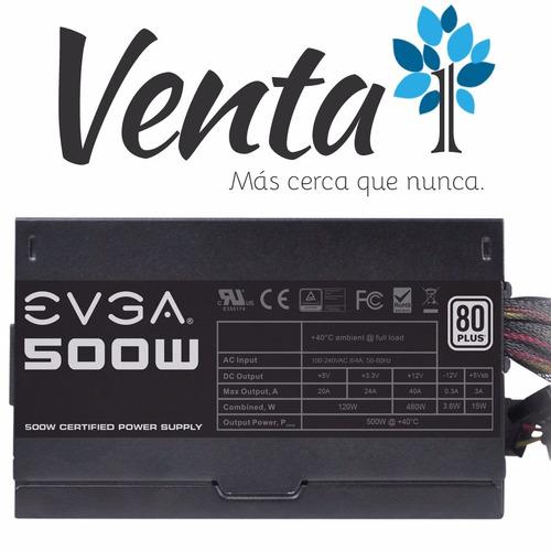 evga 500w fuente
