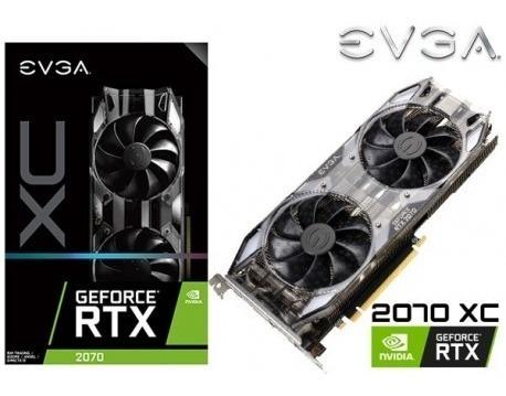 Evga Nvidia Geforce Rtx 2070 Xc Black 8gb - S/ 2 000,00