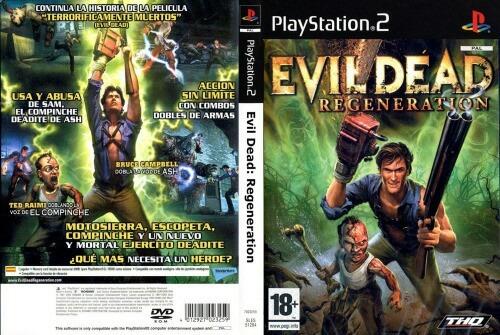 evil dead regeneración ps2