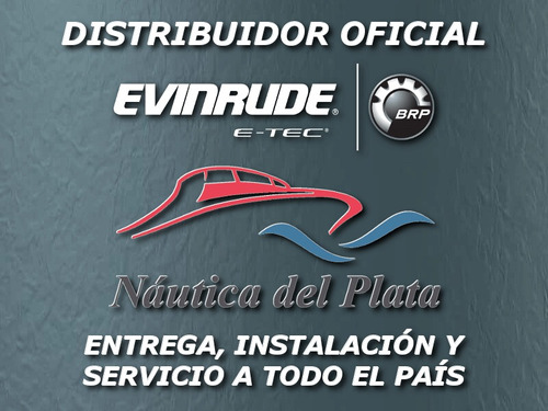 evinrude etec 115 hp  distribuidor oficial nautica del plata