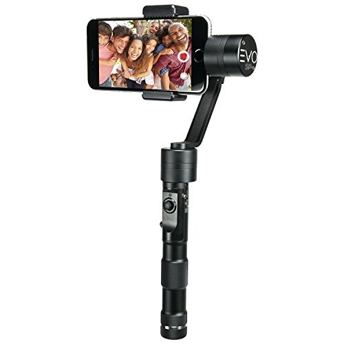 evo sp 3 axis smartphone gimbal, funciona con el iphone 7,