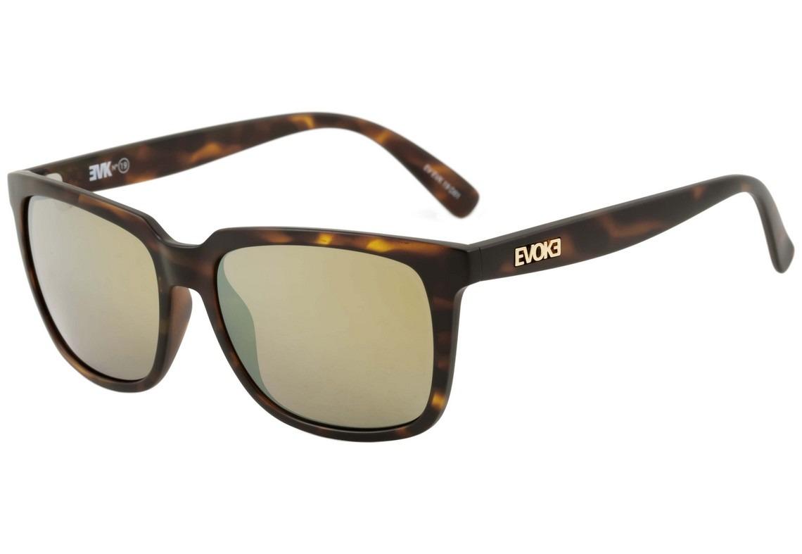 evoke evk 19 - óculos de sol turtle matte  gold espelhado. Carregando zoom. 51e3039948