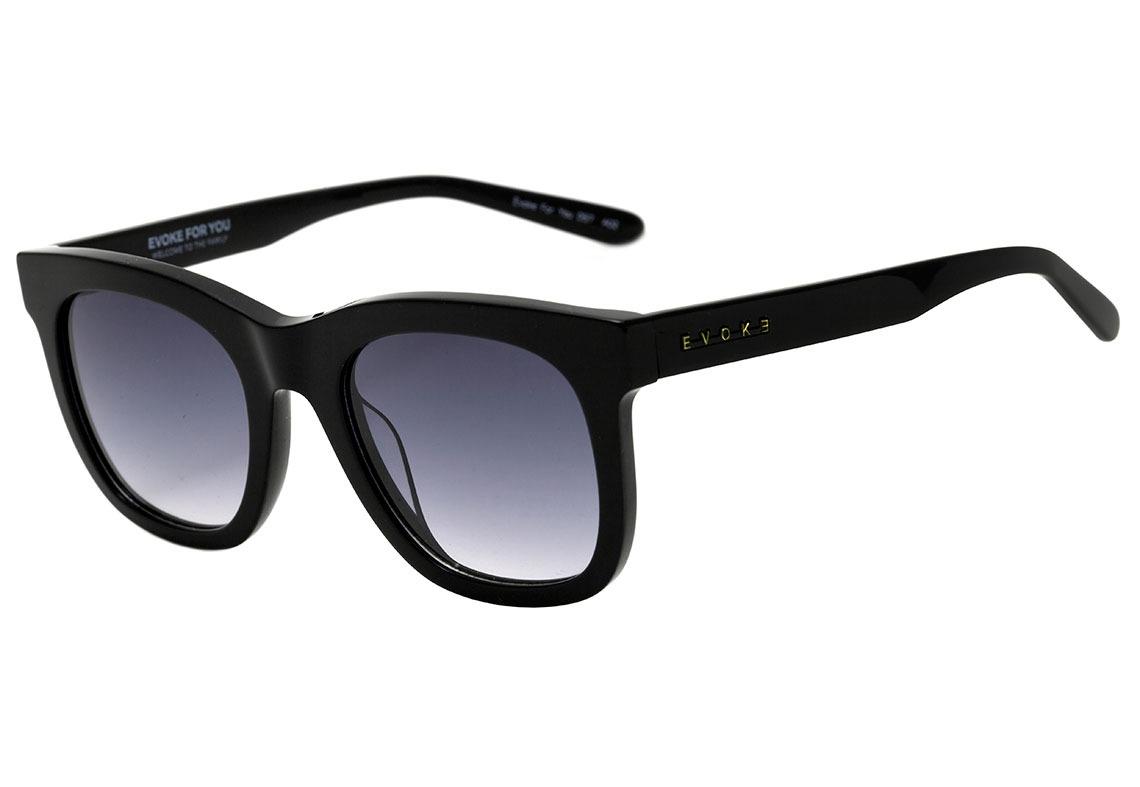 83a2329786cba evoke for you ds7 - óculos de sol a02 black shine  gray. Carregando zoom.