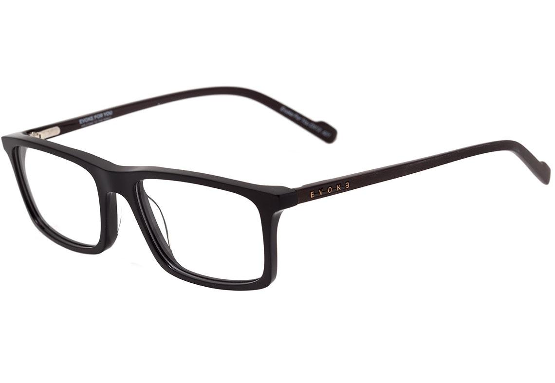 Evoke For You Dx13 - Óculos De Grau A01 Black Shine - Lente - R  348 ... 08d85d7750