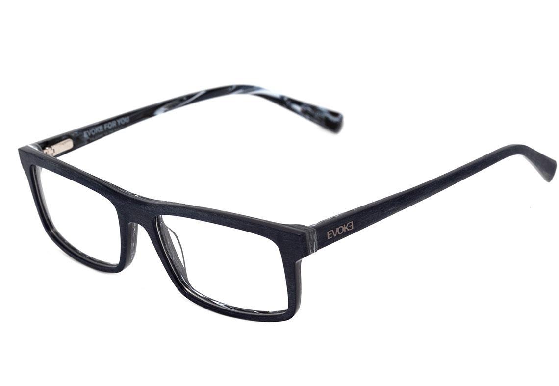 9ace2520e Evoke For You Dx27 - Óculos De Grau H02 Blue Wood Gray Marbl - R$ 314,10 em  Mercado Livre