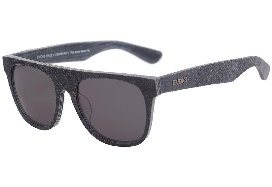 ffe295e3a evoke haze x denim - óculos de sol a01 preto fosco/ preto. Carregando zoom.