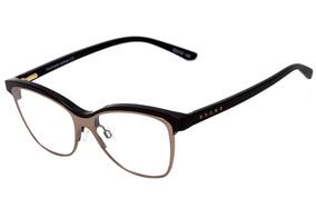 f1c73f2f8 Evoke Influence - Óculos De Grau A01 Black Shine Gold