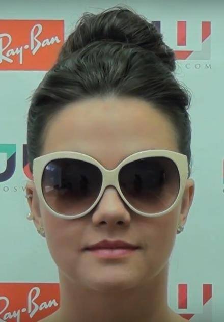 d81b5c064e5e0 Evoke Óculos De Sol Feminino Creme. Modelo  Deja Vu. - R  269