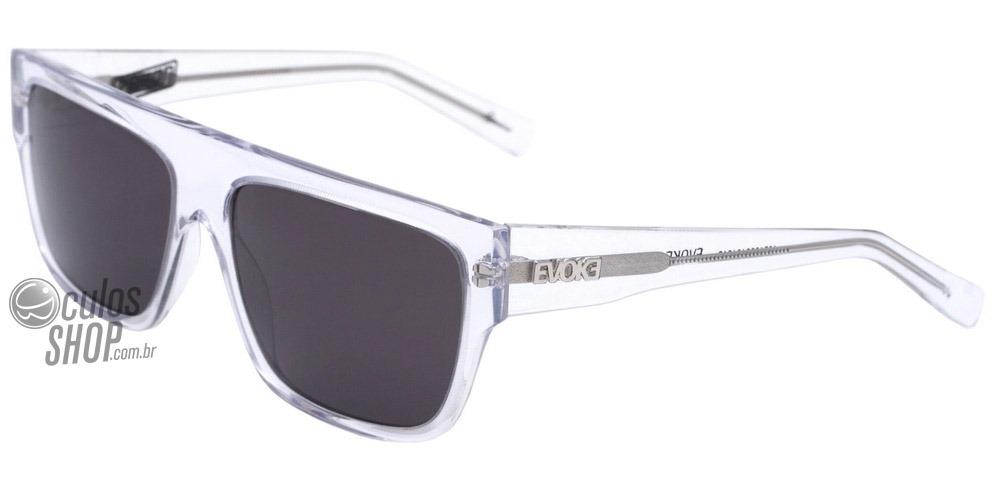 5c3560c87cc8e Evoke Zegon Big - Óculos De Sol Crystal  Gray - R  648