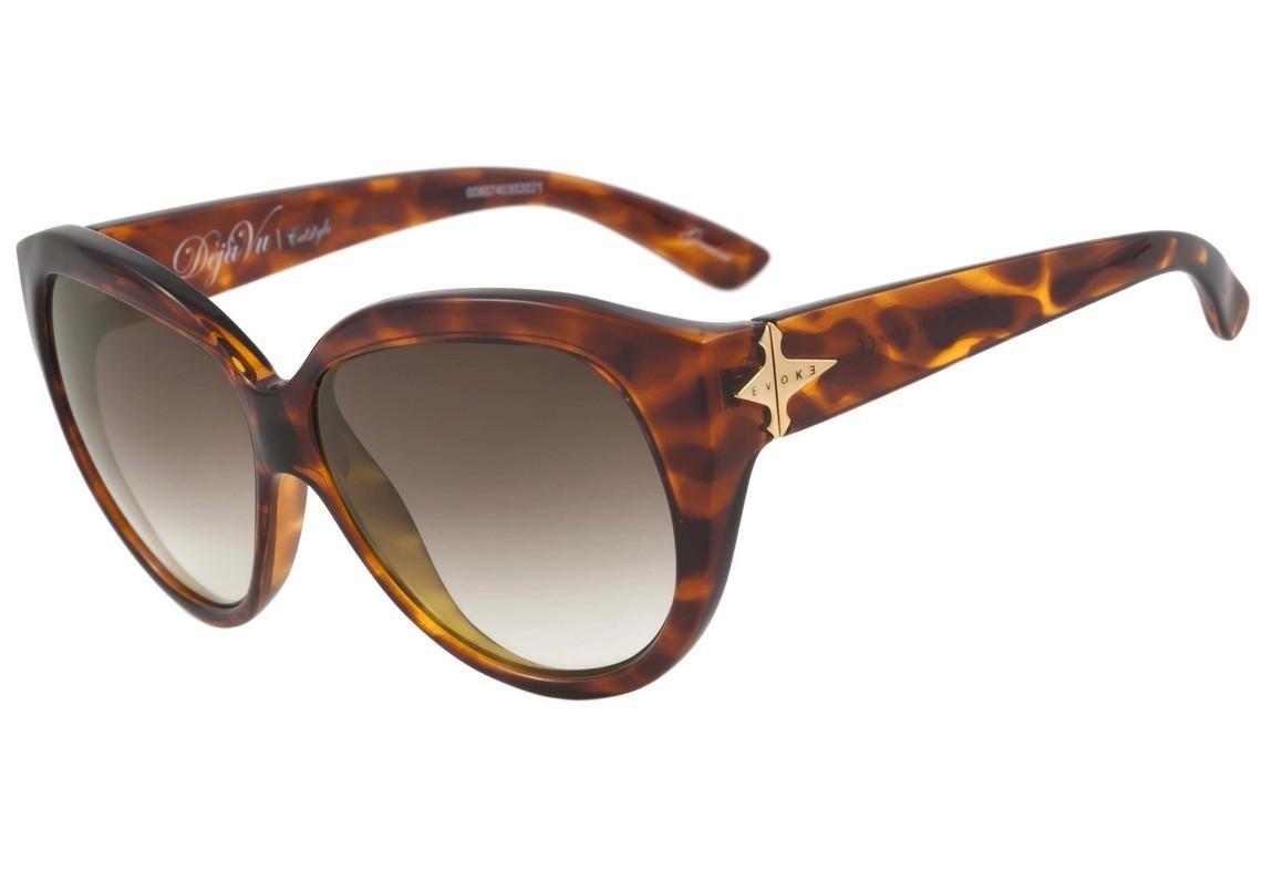 86540894542d0 Evoke Déjà Vu Cat Style - Óculos De Sol Turtle  Brown Degra - R  310 ...