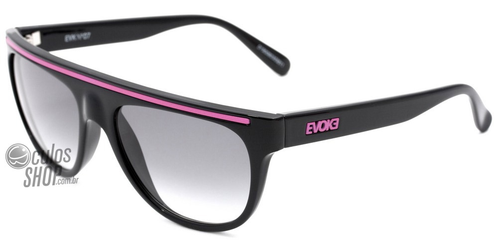 3ef262eeea943 Evoke Evk 07 - Óculos De Sol Black Pink  Gray Degradê - R  399