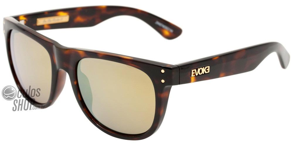 evoke on the rocks 01 - óculos de sol turtle  gold espelhado. Carregando  zoom. 916ef99f4d