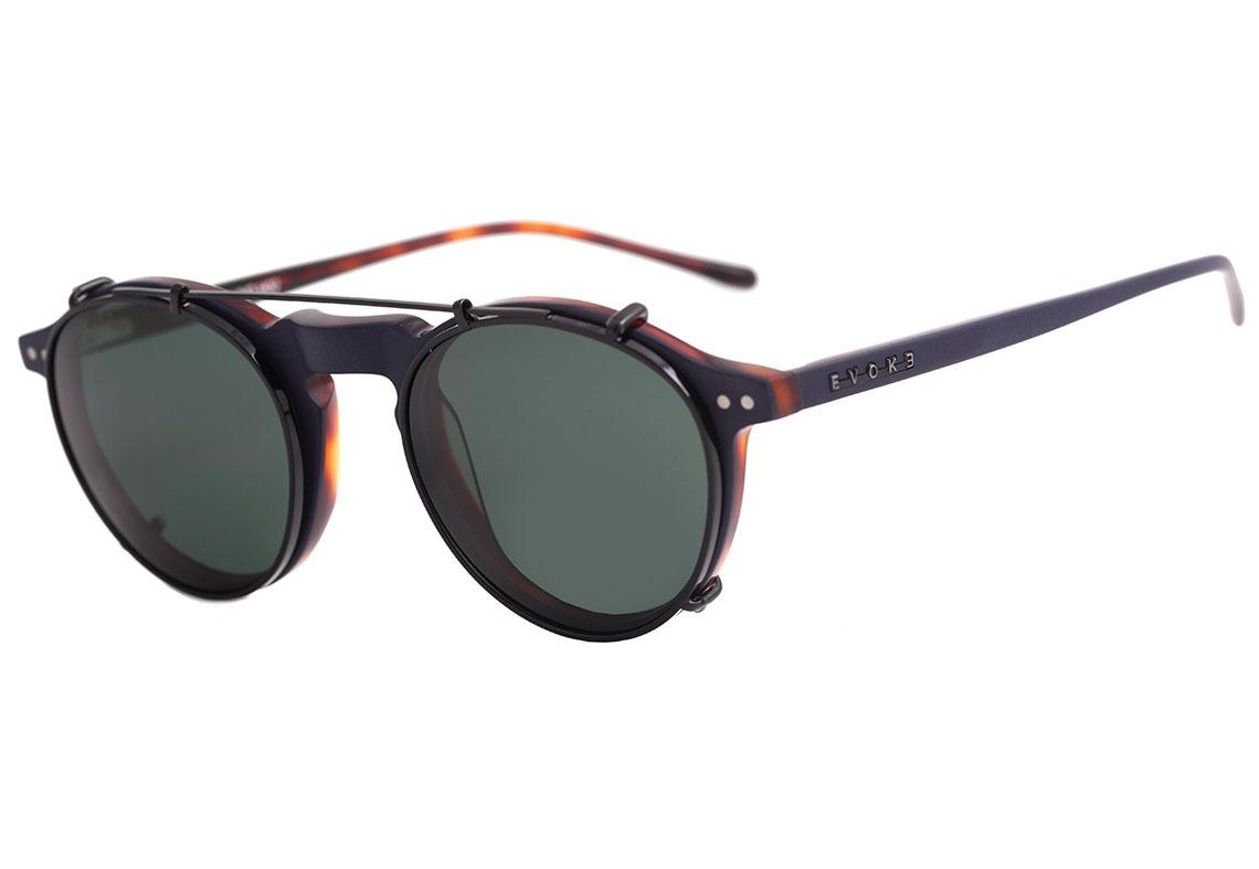 4985d481b0cfd Evoke Round Clip On - Óculos De Grau H02 Purple Demi  G15 - R  649 ...