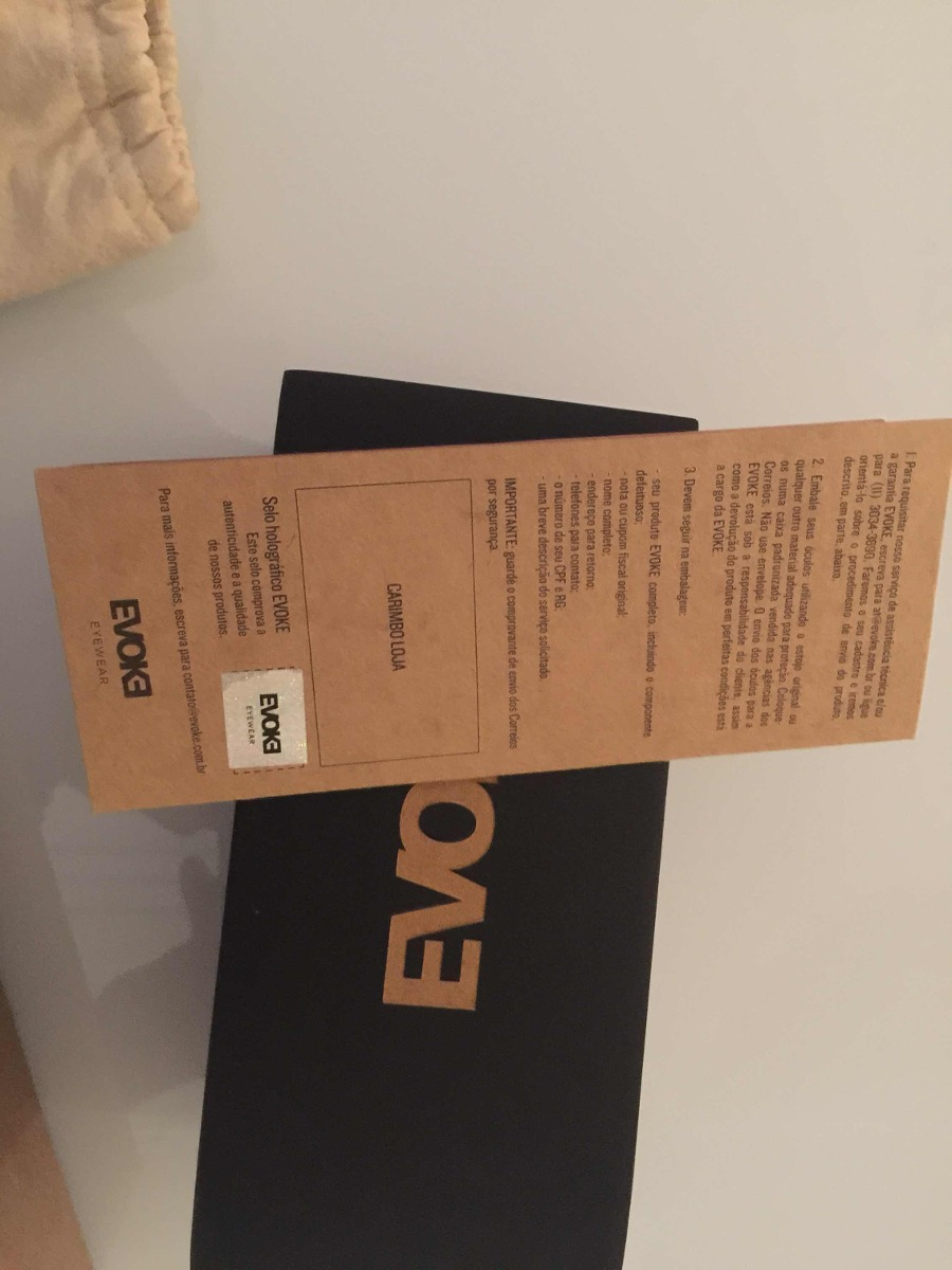 41c28812c Evoke Serie Bamboo - R$ 300,00 em Mercado Livre
