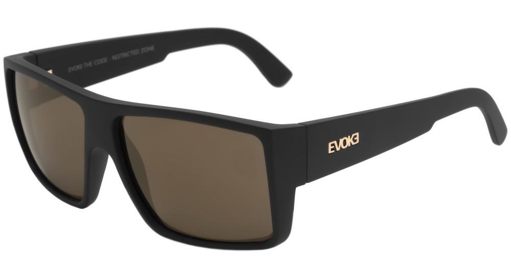 a45d44115ab3c evoke the code - óculos de sol black matte  gold espelhado. Carregando zoom.