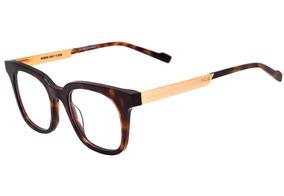 cdb794d3d Evoke Volt 05 - Óculos De Grau G22 Turtle Shine Temple Gold