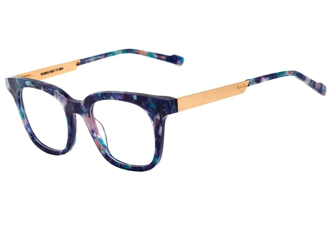 7276cd4000205 Evoke Volt 05 - Óculos De Grau G24 Azul Mesclado Lente 4,9 C - R ...