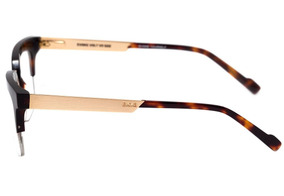 00986b9e2 Evoke Volt 07 - Óculos De Grau G22 Turtle Shine Temple Gold