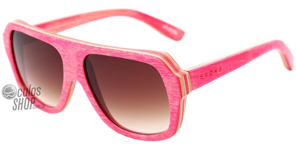 45234104b Evoke Wood Series 01 Madeira - Óculos De Sol Maple - R$ 298,00 em ...