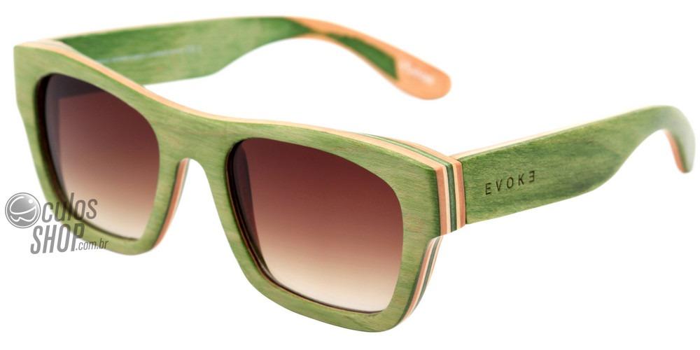 ee80ad96e Evoke Wood Series 02 Madeira - Óculos De Sol Maple - R$ 298,00 em ...