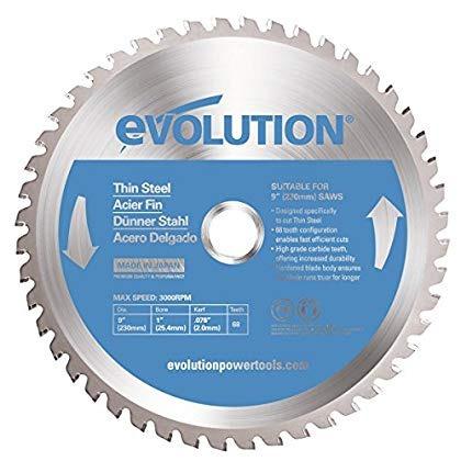 evolución energía tools 230bladets hoja de corte acero del