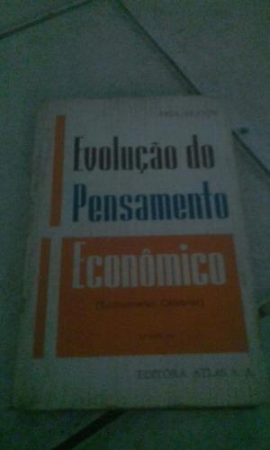 evolução do pensamento econômico paul hugon 2 edição
