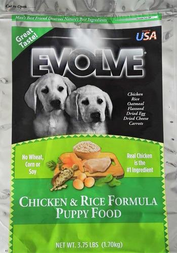 evolve classic perros puppy chicken rice pollo arroz 6.35kg
