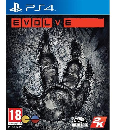 evolve ps4 playstation 4 juego fisico