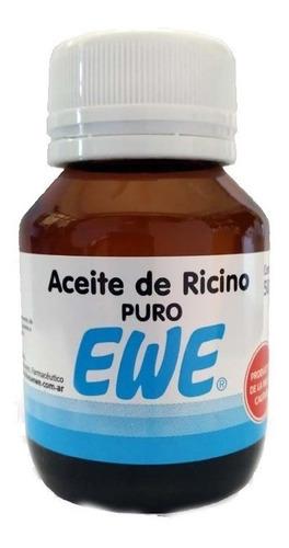 ewe aceite de ricino puro x 30ml