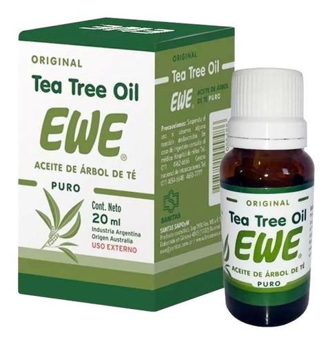 ewe tea tree oil aceite de árbol de té puro original 20ml