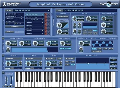ewql symphonic orchestra gold vst orquesta