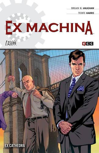 ex machina 1-10 (completo)- vertigo ecc comics - robot negro