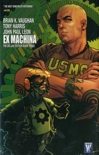 ex machina, book 3 ( deluxe edition)