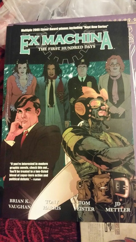 ex-machina brian k vaughan tony harris saga image wildstorm