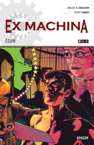 ex machina vol. 6 - vertigo ecc comics - robot negro