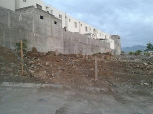 ex2253 terreno en renta en el fracc. la conquista en santa catarina