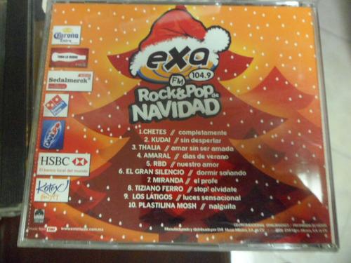 exa 104.9  cd rock & pop de navidad chetes kudai thalia rbd
